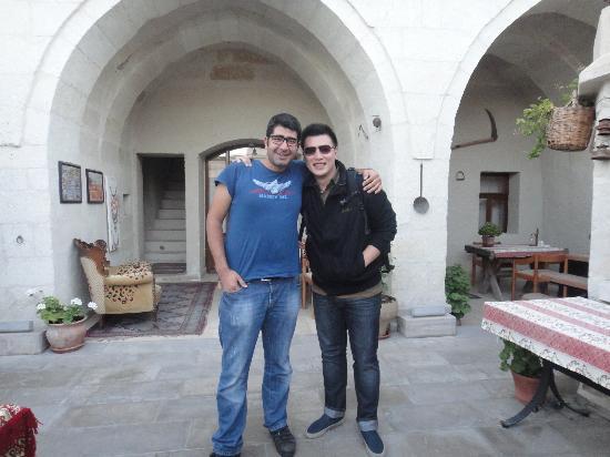 Safran Cave Hotel: Ali & Stanley
