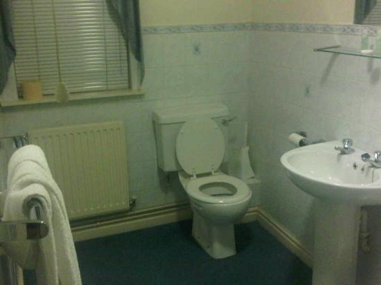 The Kingfisher Hotel: Room 10 large Bathroom