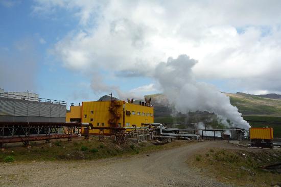 Kamchatka Peninsula: геотермальная станция