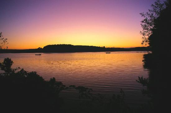 Siblyback Lake: Sunset