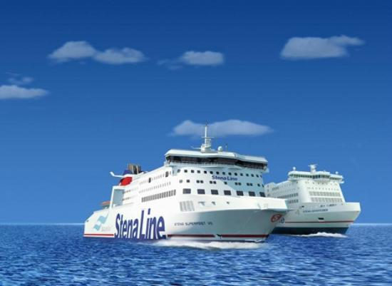 Holyhead, UK: Stena Line Superferries