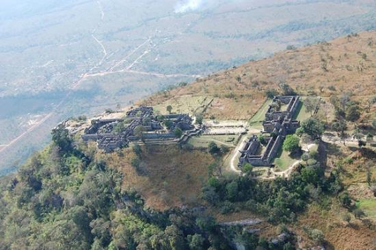 Preah Vihear Province, Camboya: The wiew from the hill top of Preah Vihear temple ,