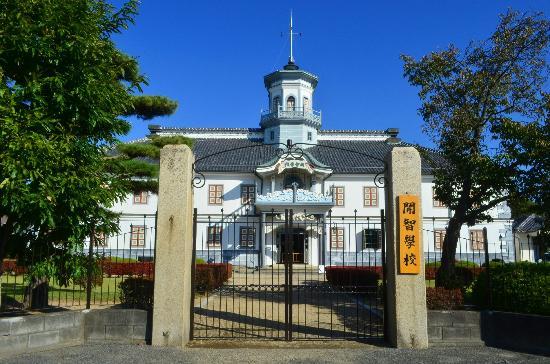 Ματσουμότο, Ιαπωνία: 旧開智学校の正面