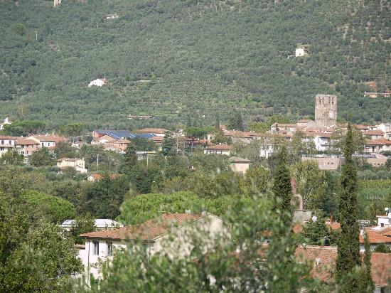 Il Molendino B&B : View of Calci from the road above the B&B