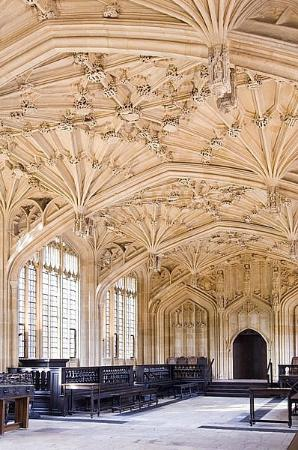 Oxford, UK: The Divinity School