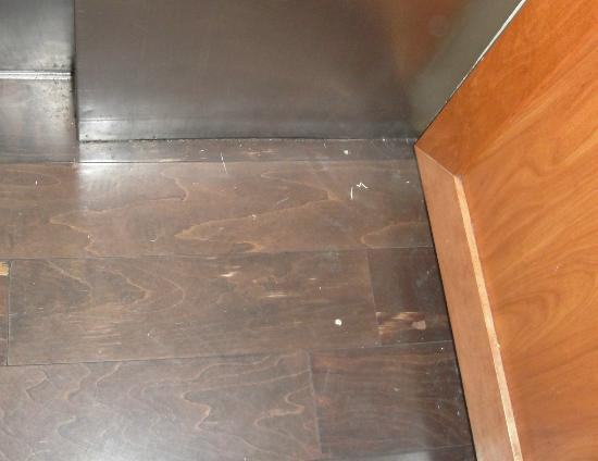 Embassy Suites by Hilton Memphis : dirty, sticky elevator