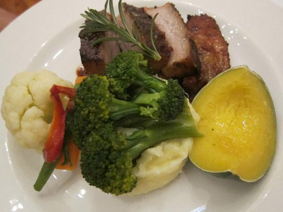 Kalinka : Pork neck dish