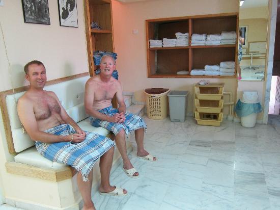 Sultan Hamam Turkish Bath: before we knew what was next!