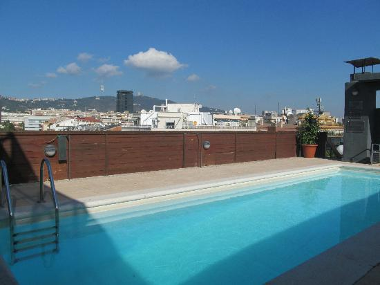 Roof Top Pool Picture Of Nh Barcelona Stadium Barcelona