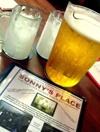 Sonny's Place: Yes, it's Cold!