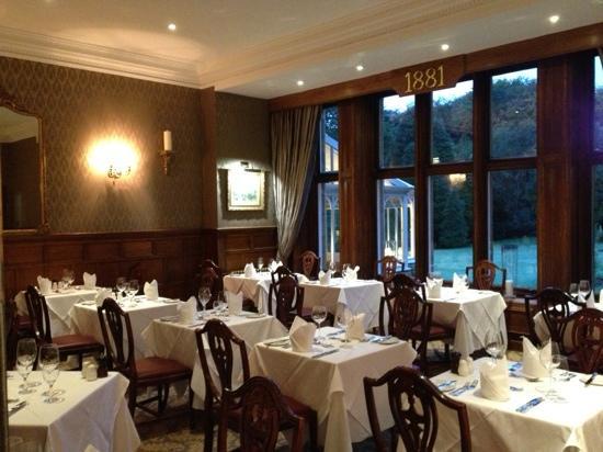 Wrea Head Hall: 1881 dinning room