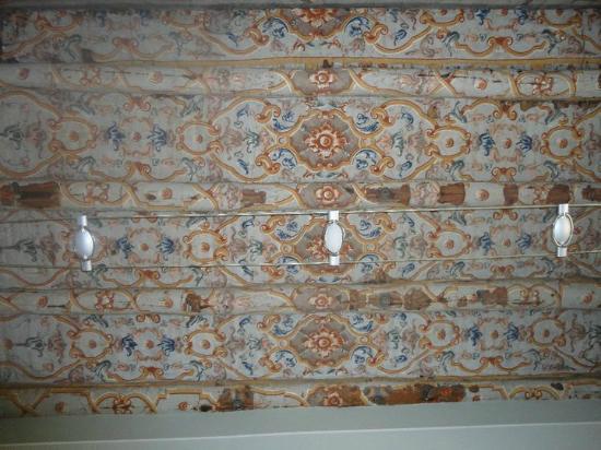 Le Stanze del Vicere': Amazing ceiling