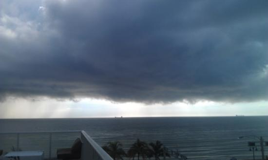 W Fort Lauderdale: View from hotel's terrace