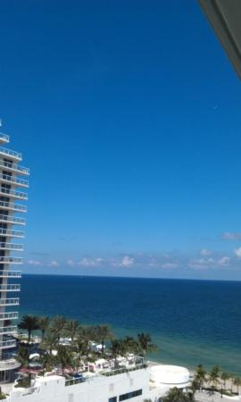 W Fort Lauderdale: View from our room