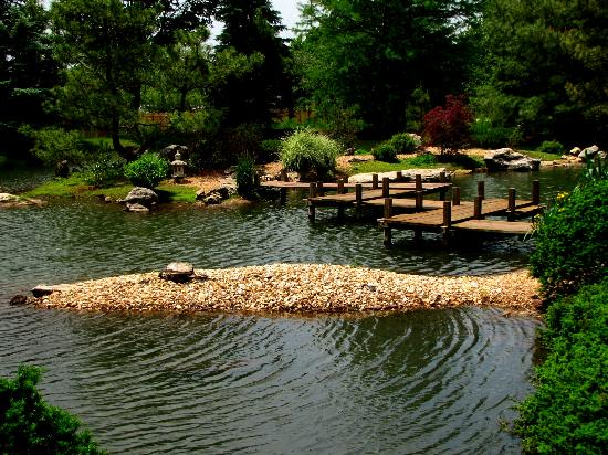 Nathanael Greene Close Memorial Park Mizumoto Anese Stroll Garden Open April Oct Thurs