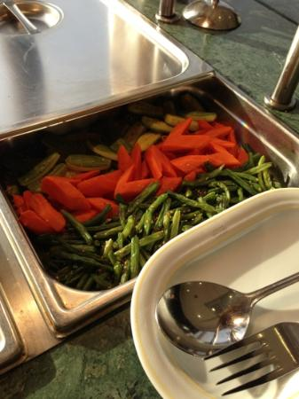 Le Palace d'Anfa : carrots for breakfast