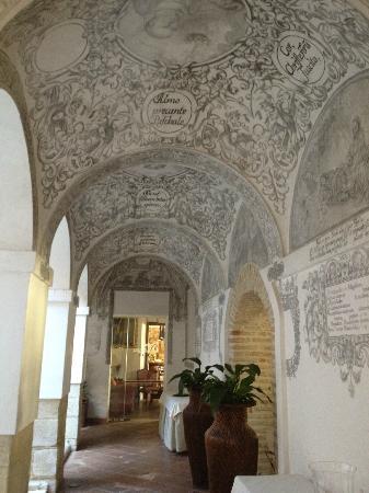 Hotel Convento de la Magdalena: couloir hotel