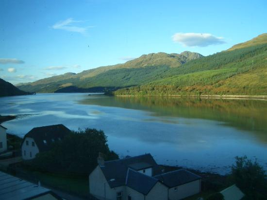 Loch Long Hotel : View from 4th floor viewing room