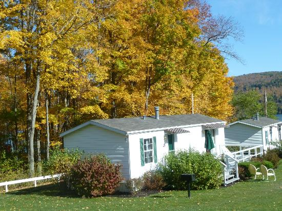 "Lake View Motel: One of the ""upper"" cottages"