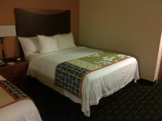 Fairfield Inn & Suites Houston I-45 North: Bed in 2 double bed room