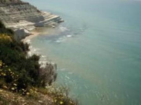 Realmonte, Italie : scala dei turchi