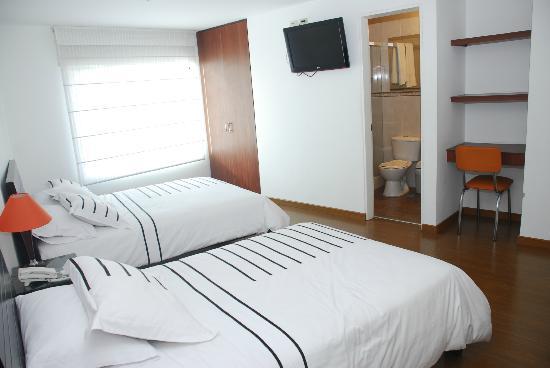 Hotel Real Estacion: Habitacion doble