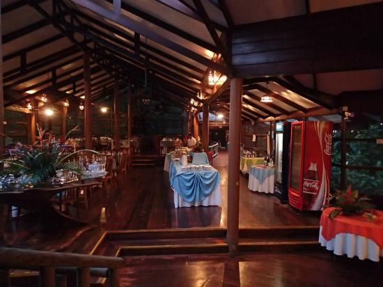 Pachira Lodge : Dining are