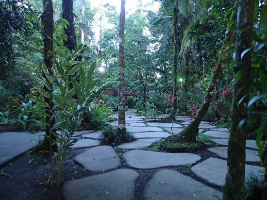 Pachira Lodge: Gardens