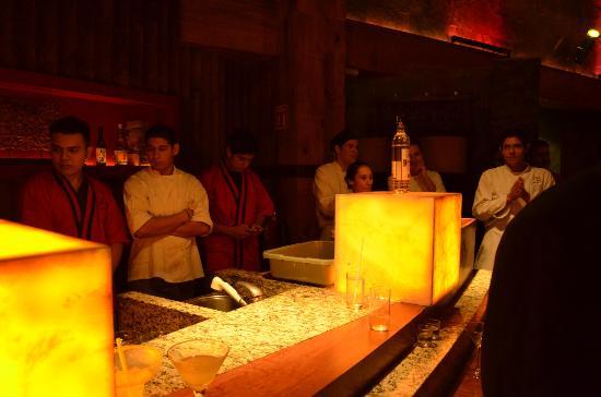 Kyo Grill: Personal de cocina.