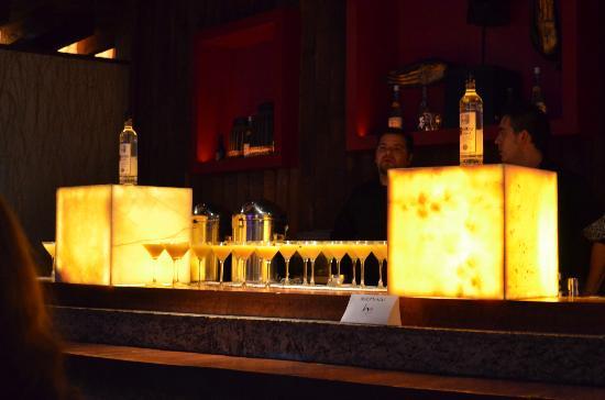 Kyo Grill: Barra de bebidas preparadas.