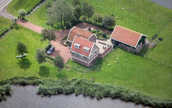 luchtfoto Op de Horsten
