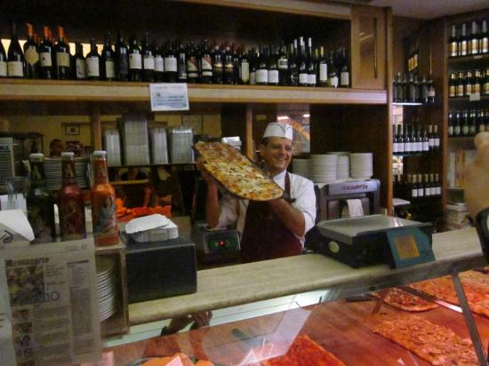Eating Italy Food Tours in Rome: Top Three Piza Slice in Rome