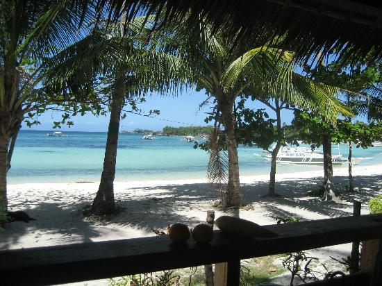 White Sand Bungalows: View from balcony