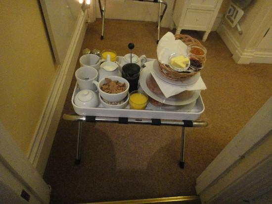 The Bath House: breakfast delivered to your door!