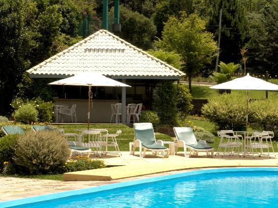Hotel Alpestre : Área da Piscina/ Pool area
