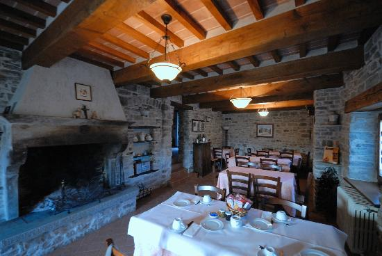 Badia Tedalda, Italie: sala pranzo