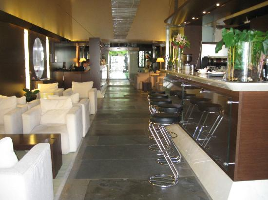 Hotel Palazzo Giovanelli: Lobby facing Courtyard