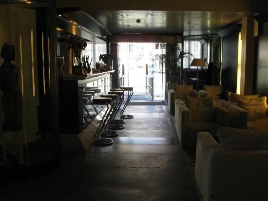 Hotel Palazzo Giovanelli: Lobby facing Canal