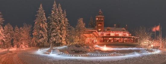 Cloudcroft, Nuovo Messico: Winter at The Lodge