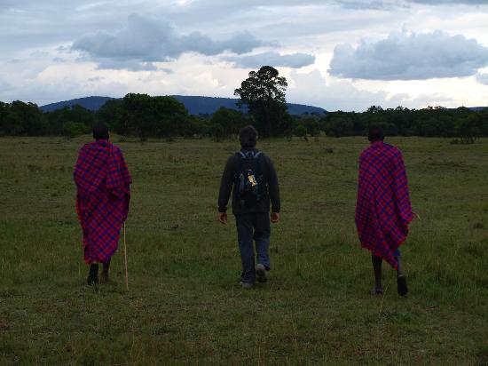 Enkerende Tented Camp: Paseocon los masaais