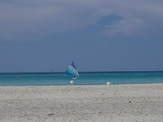 Varadero Beach: view from a lounger