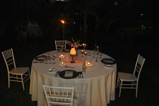 Sandals Inn:                                     Dinner following wedding
