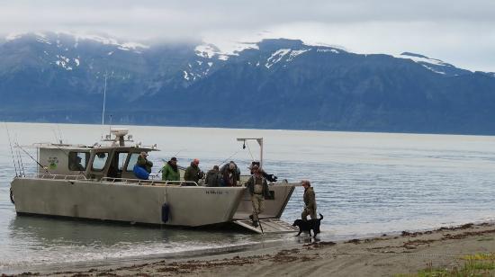 Icy Bay Lodge: Landing Craft