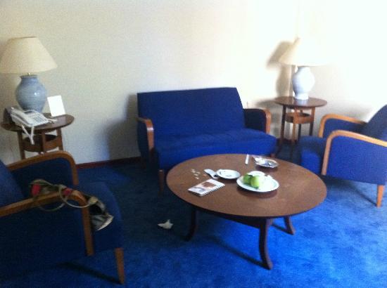 Plaza Hotel: salon dans la chambre