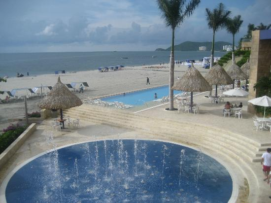 Zuana Beach Resort: VISTA A LA PLAYA