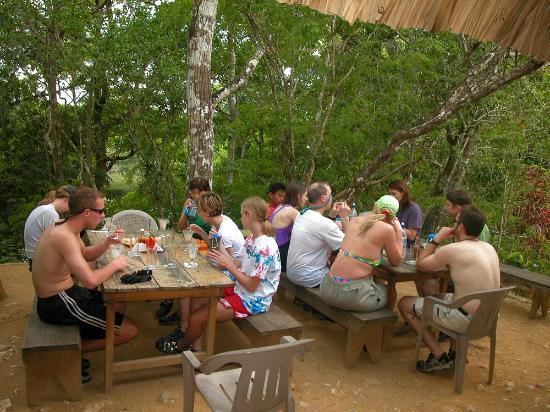 Clarissa Falls Resort: Lunch at Clarissa Falls