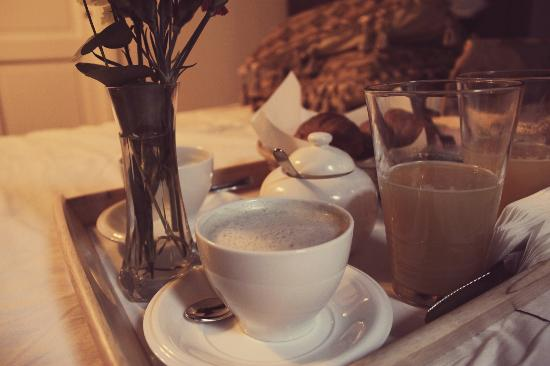 Navona Governo Vecchio : Frukost