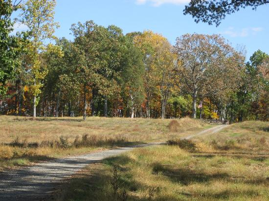 Ball's Bluff Battlefield and National Cemetery: View from Bluff