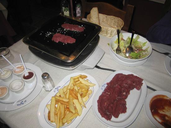 La Petit Raclette: cena para dos