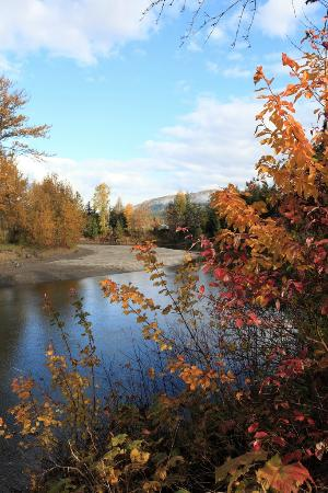 Anchor Riverfront Motel : located on the beautiful eagle river